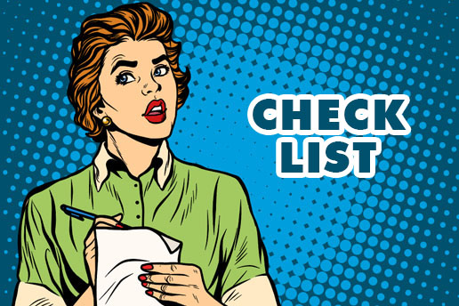 Checklist d'un achat immobilier